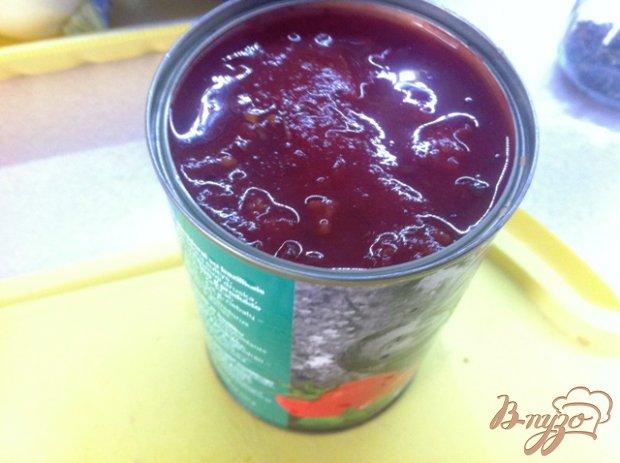 Картофельная запеканка с баклажанами и томатным соусом