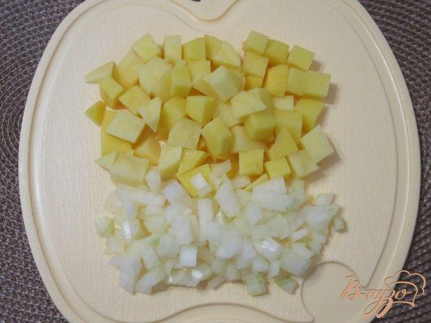 Грибной суп-пюре с гренками