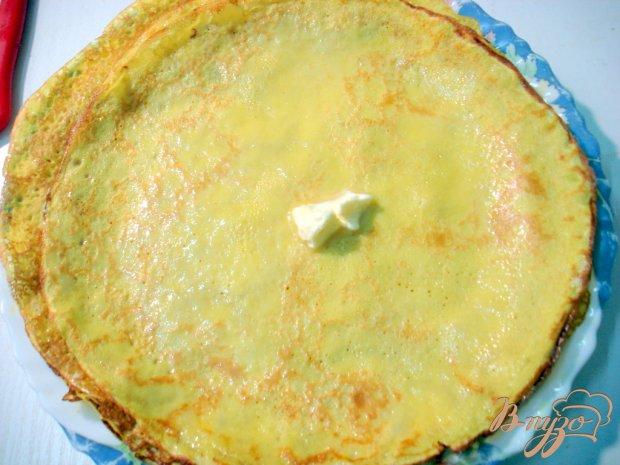 Блинный яблочный пирог