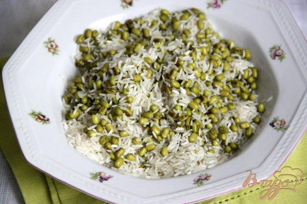 Плов с рисом и машем