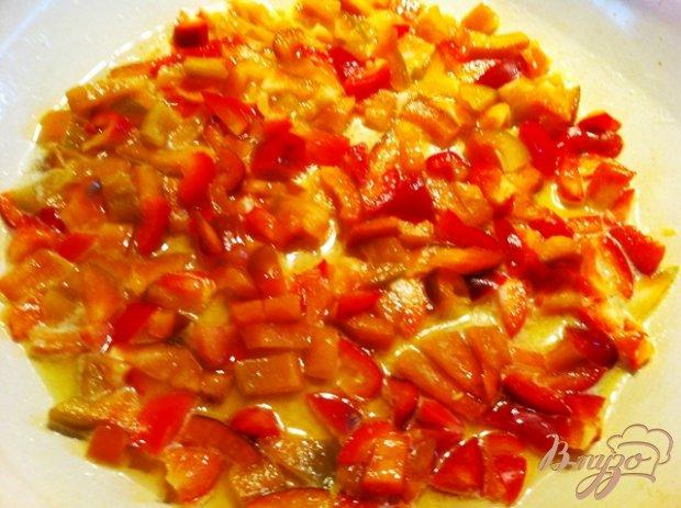Паста в томатно-перечном соусе