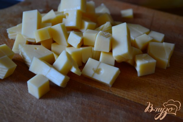 Овощной салат с соусом из ежевики