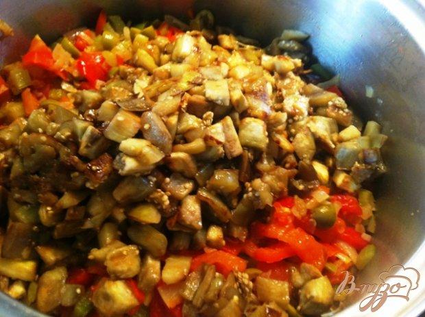 Овощное рагу с оливками