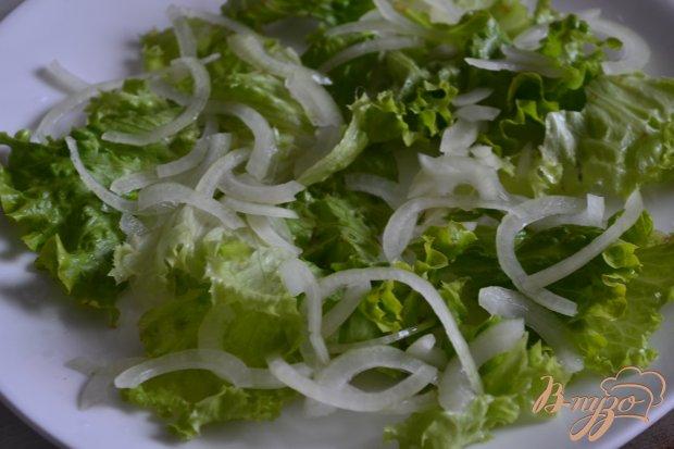 Салат со свеклой и копченой семгой
