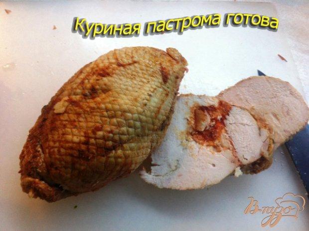 Пастрома пряная из куриного филе