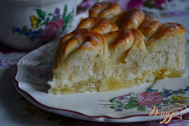 Пирог из хлебного теста