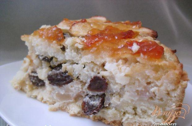 Яблочно-рисовый пирог