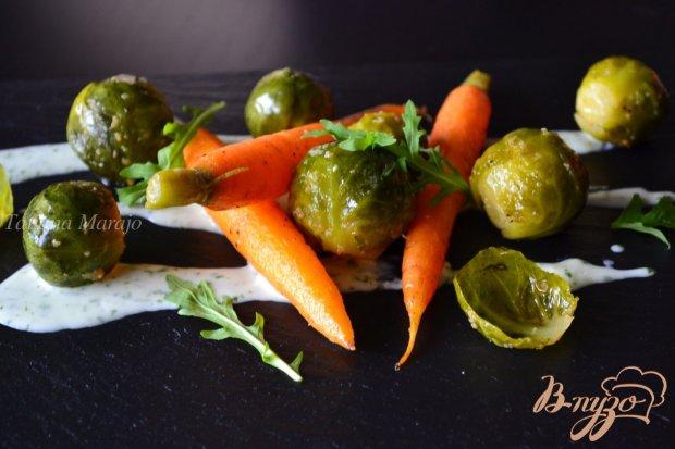 Овощи со сливочным соусом