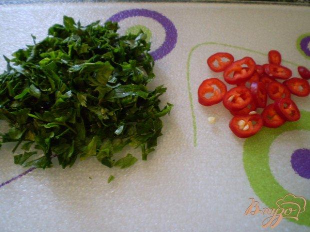 Тушенные зеленые помидоры с луком