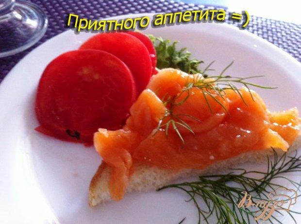 Слабосоленый лосось в имбирно-апельсиновом маринаде