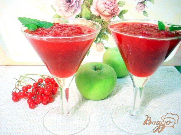 Яблочно - калиновый джем