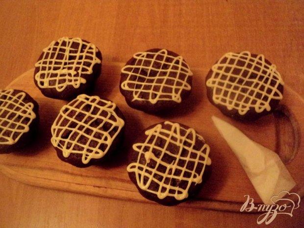 Шоколадные маффины с сюрпризом