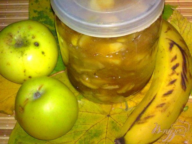 Варенье яблочное с бананом