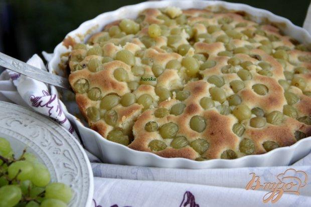 Итальянский виноградный пирог