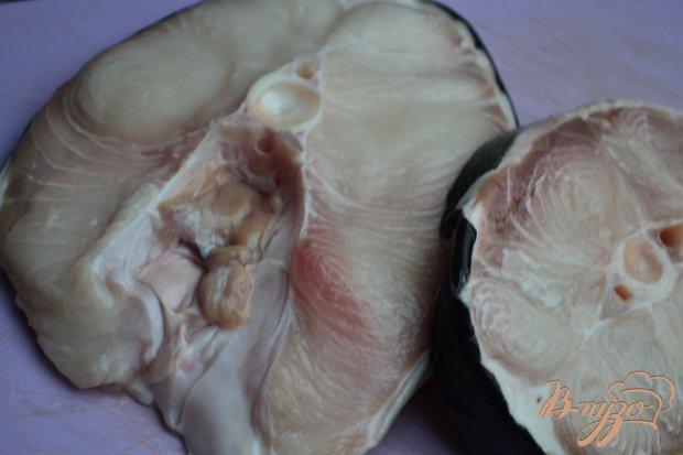 Акулье мясо в сухарях