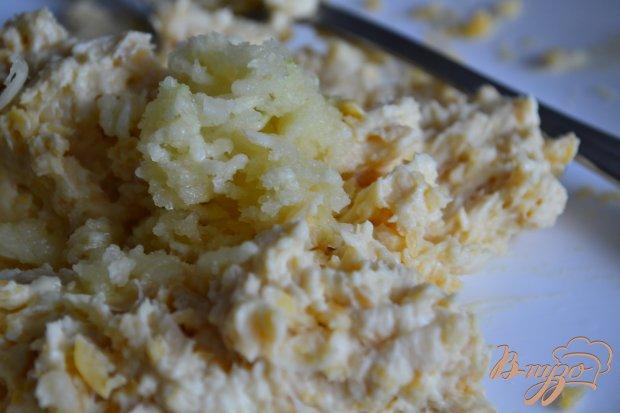 Баклажаны с сыром и  нутом