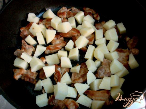 Рагу со свининой и тыквой