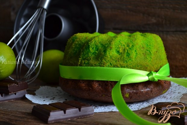 Лаймово-шоколадный кекс