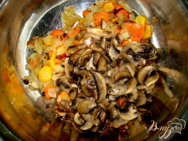 Печёночно - грибной паштет