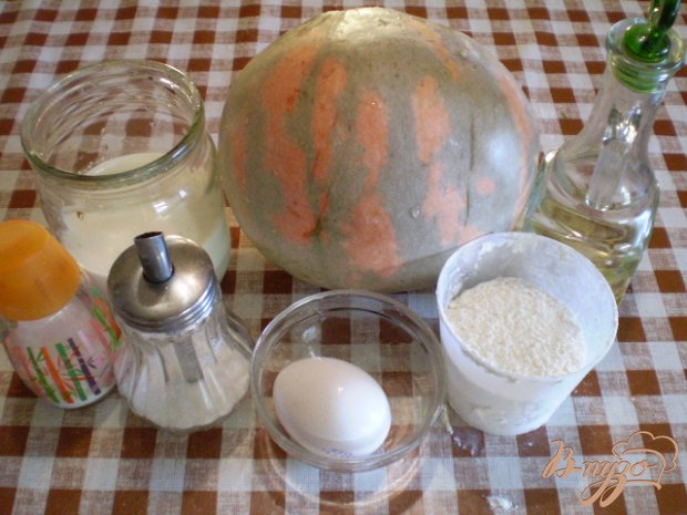 Блинчики с тыквой, апельсиновой цедрой и мятой