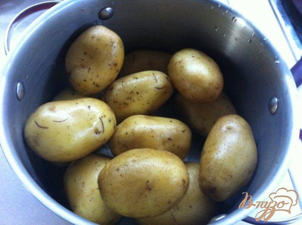 Картофель, запеченный с грудинкой