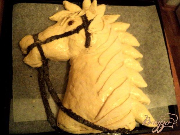 Пирог-кулебяка «Лошадка»