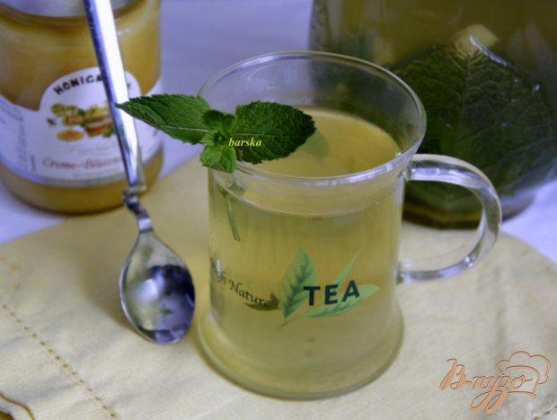 Мятный чай с имбирем и медом