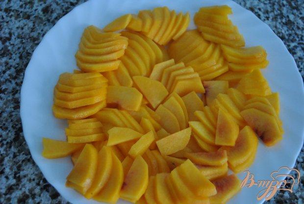 Персиковые рулетики