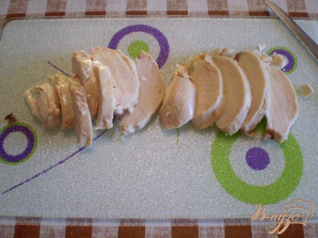 Омлет с цыпленком гриль и сыром в мультиварке