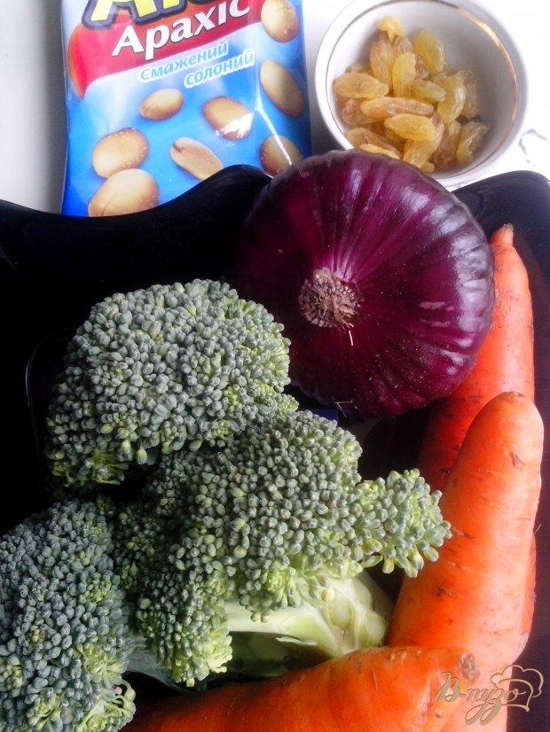 Салат из брокколи оригинальный