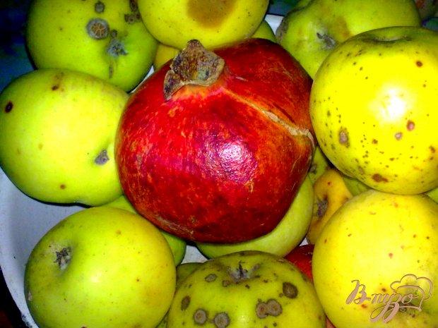 Варенье яблочное с гранатом