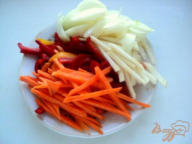 Свинина с овощами по-китайски