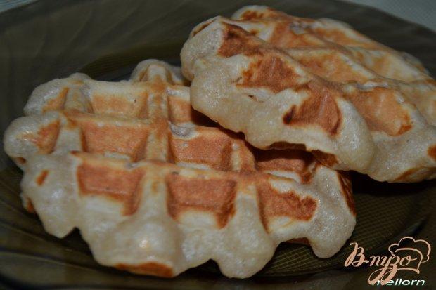 Вафли йогуртовые с яблоком