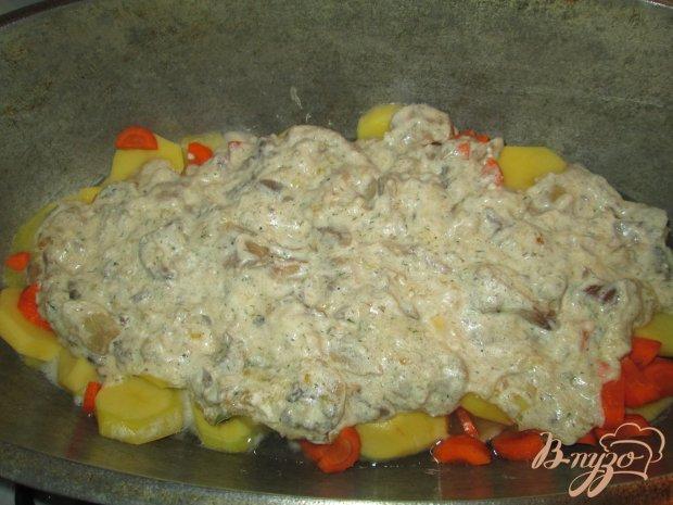 Тушеный картофель с грибами