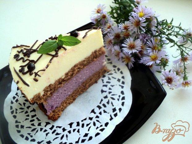 Торт «Черничная поляна»