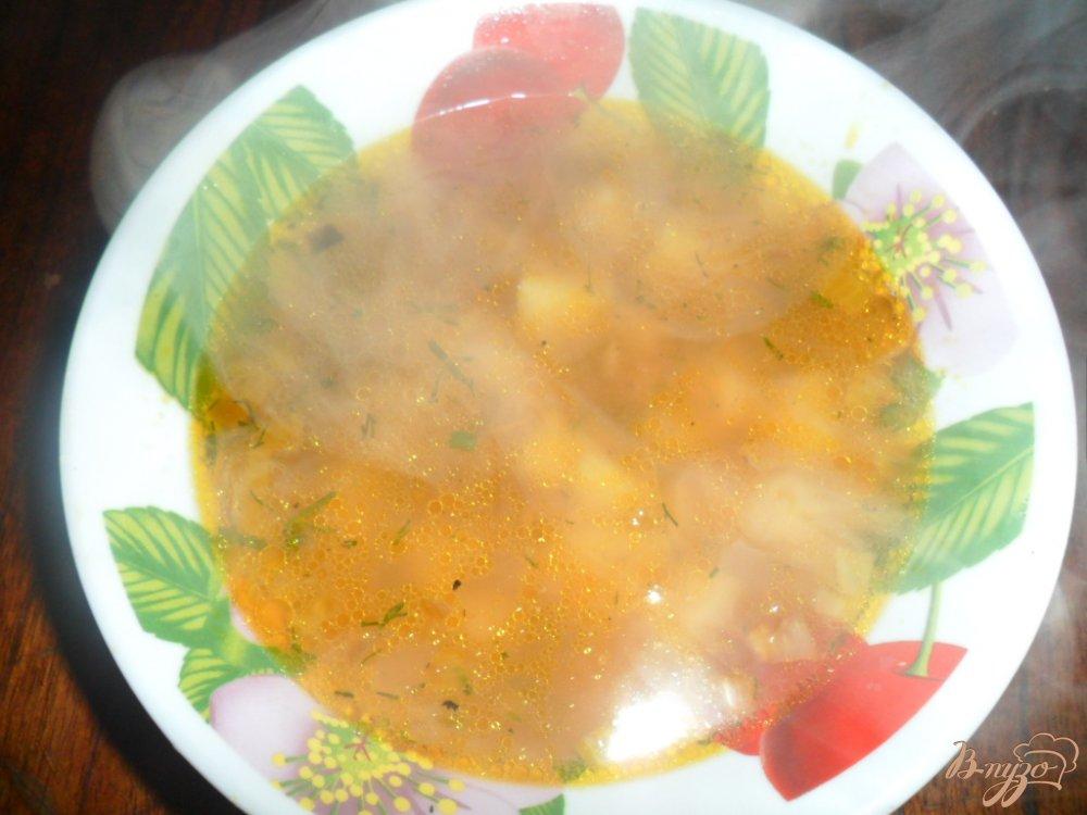 Фото приготовление рецепта: Суп гороховый шаг №6