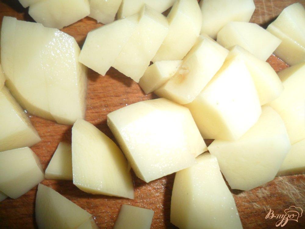 Фото приготовление рецепта: Суп гороховый шаг №4