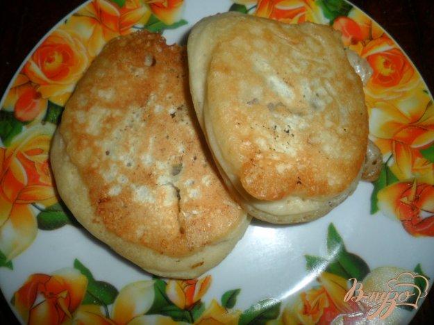 Рецепт Оладьи с мясом