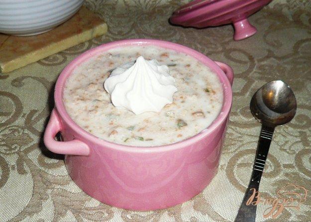 фото рецепта: Йогуртовый завтрак с фейхоа и овсяными хлопьями