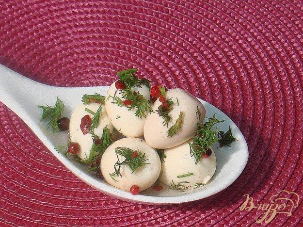 Рецепт Перепелиные яйца маринованные
