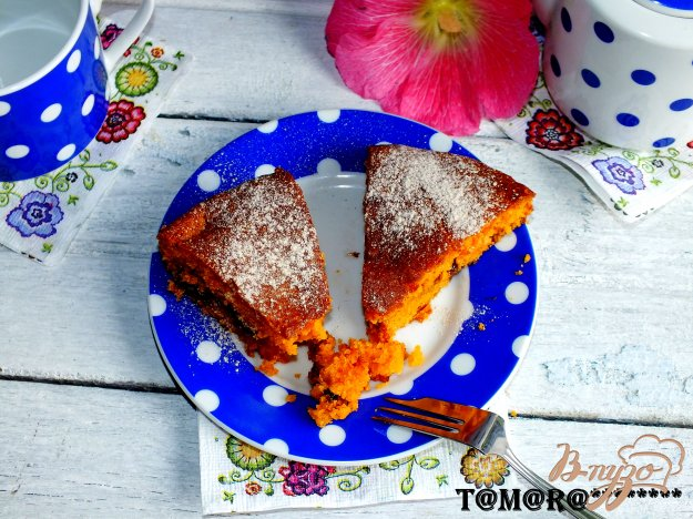Рецепт Рассыпчатый томатный пирог