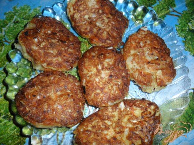 Рецепт Котлеты из квашенной капусты