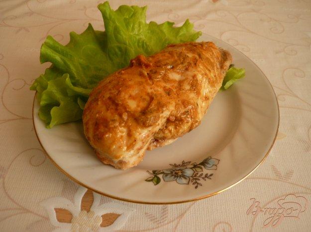 Рецепт Куриная грудка в горчице
