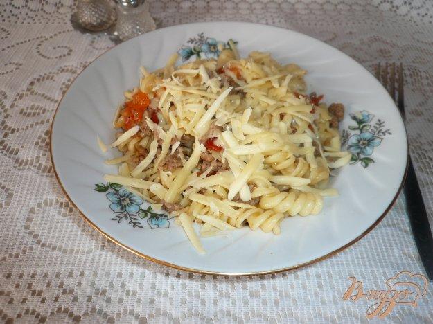 фото рецепта: Макароны с мясным соусом