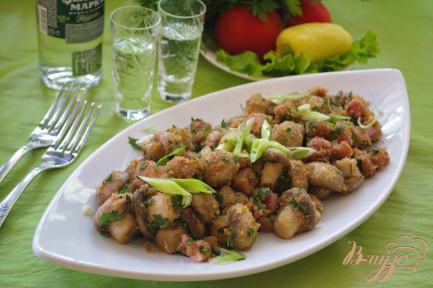 Рецепт Шампиньоны на закуску