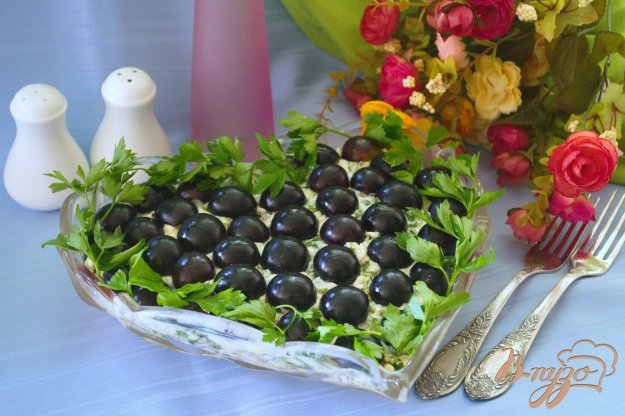 Рецепт Нестандартный салат Тиффани