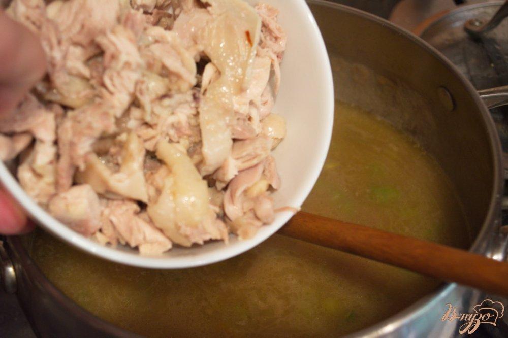 Фото приготовление рецепта: Суп Гамбо шаг №5