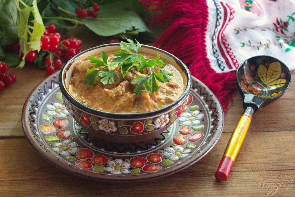 Фото приготовление рецепта: Рагу из говядины без картофеля шаг №6