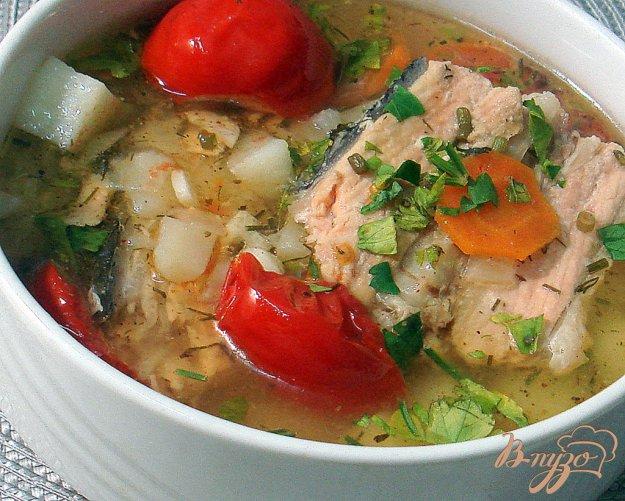 Рецепт Рыбный суп с томатами