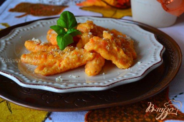 Рецепт Клецки из печеной тыквы